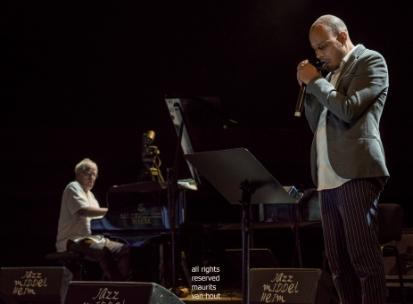 Antwerp, 18 august 2019. Gregoire Maret and Kenny Werner play a tribute to Toots Thielemans