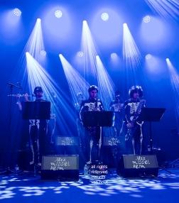Antwerpen, 17 augustus 2019. Tijdens het jaarlijkse Jazz Middelheim treedt Louis Cole met zijn bigband op.