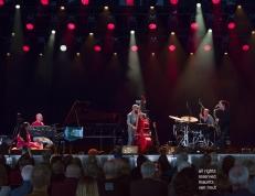 Tijdens het jaarlijkse Jazz Middelheim in Antwerpen treedt het Ragnini trio op met als speciale gasten Bojan Z op toetsen en zangeres Sawani Mudgal.