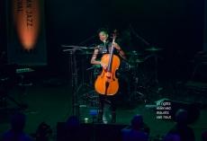Den Haag, 12 oktober 2019. Ayanna Witter-Johnson tijdens Mondriaan Jazz