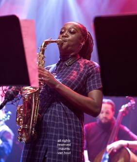 Den Haag, 12 oktober 2019. Seed Ensemble tijdens Mondriaan Jazz